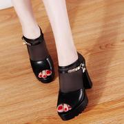 透气网韩版罗马鞋