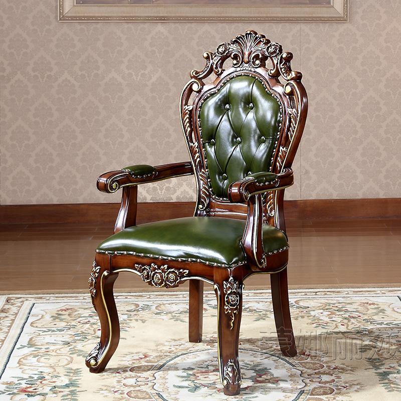 高档白色餐椅