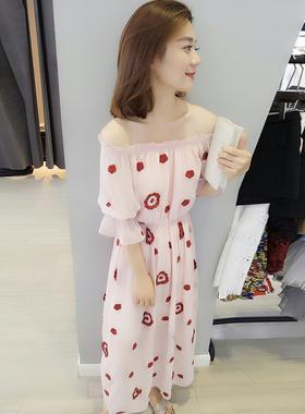 一站色休闲裙