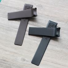 适配于TAG豪雅表带Heuer泰格卡莱拉24mm橡胶表带透气