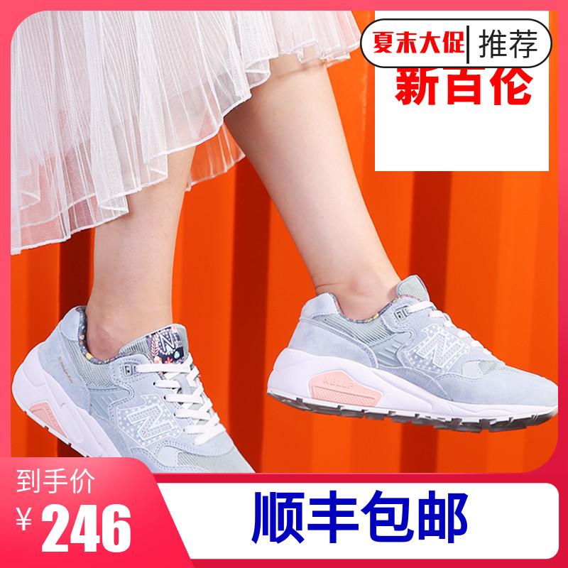 新百伦鞋女999樱花系列580运动鞋跑步鞋情侣2019新款夏季白色女鞋
