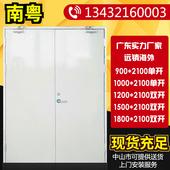 广东甲级钢制防火门消防双开门乙丙级钢质隔热防火门单门厂家直销