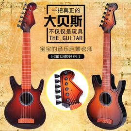 贝斯木纹仿真吉他它尤克里里迷你乌克丽丽弹奏儿童乐器玩具琴初学图片