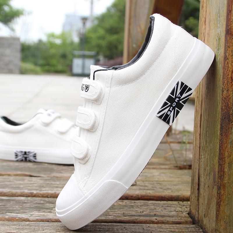 低帮帆布鞋时尚板鞋
