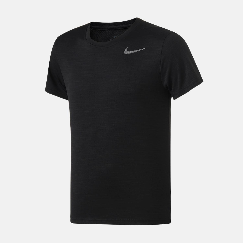 NIKE耐克男装短袖T恤2019新款经典针织圆领休闲跑步运动服AJ8022