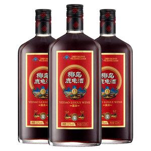 椰岛鹿龟酒500ml/瓶*3瓶实惠装鹿茸保健酒男成人补酒敬父母养生酒