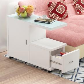 简约移动沙发边柜茶几角几边几电话柜客厅边桌床头柜小茶几摆放柜