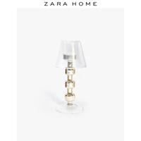 Zara Home 现代简约浪漫摆件装饰台灯状高脚烛台 45256048303