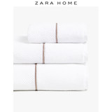 Zara Home Nordic Fancy Embroidery Soft Washing Household Cotton Towel 41450013250