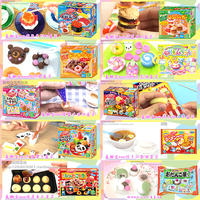Japanese food can eat DIY handmade soft candy burger ice cream sushi children's toys snacks package
