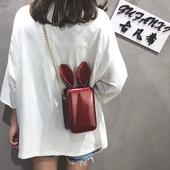 百搭斜挎包可爱学生单肩包 潮韩版 chic链条夏天仙女包包女2018新款