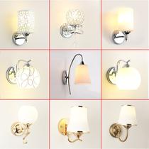 床头灯卧室壁灯现代简约LED创意欧式美式客厅楼梯过道酒店墙壁灯