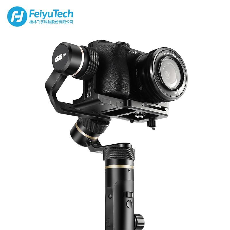 飞宇G6P蜂鹰Plus微单稳定器防抖手持云台兼容手机GoPro相机跟焦器