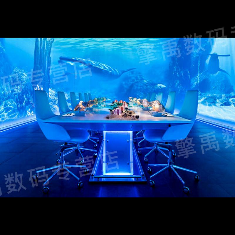 沉浸餐厅投影  主题餐厅  全息餐厅 3D餐厅  融合投影  互动餐厅