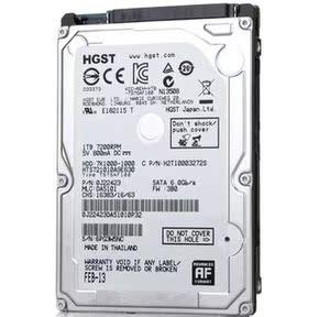 全新HGST/日立 HTS721010A9E630 1T笔记本硬盘1TB2.5寸 7200转32M