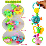 3-6-12 months old newborn ring bell 0-1 year old children educational early education children hand ring bell gum