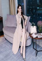 加厚风衣中长款高个子女装170-175欧美韩版外套中年人穿的外套女