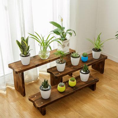 木头花架客厅