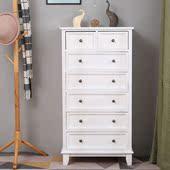 美式欧式五六七斗柜简约实木卧室收纳储物抽屉式五六斗橱整装特价
