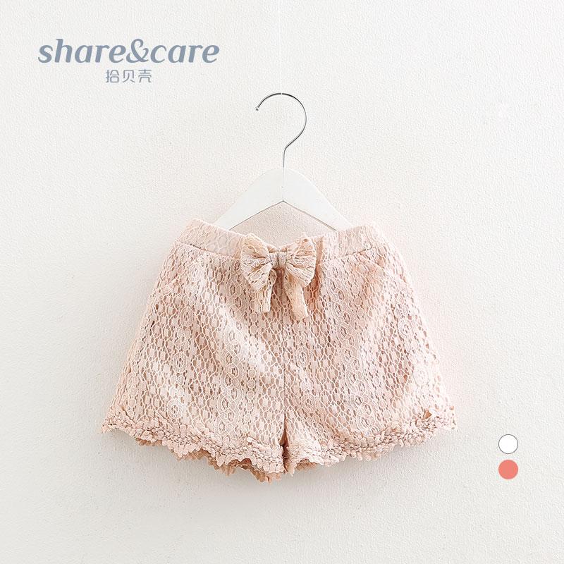 宝宝蕾丝短裤