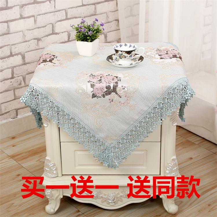 床头柜小方巾
