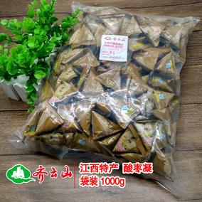 齐云山酸枣凝南酸枣糕1000g整包野生酸枣凝赣州特产枣类休闲食品