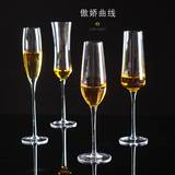 Bar crystal glass champagne glass creative red wine glass wine set cocktail glass home goblet