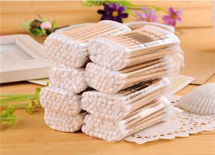 正品優質 棉簽 棉棒 嬰兒棉簽 化妝卸妝棉簽100支裝 淘寶熱賣