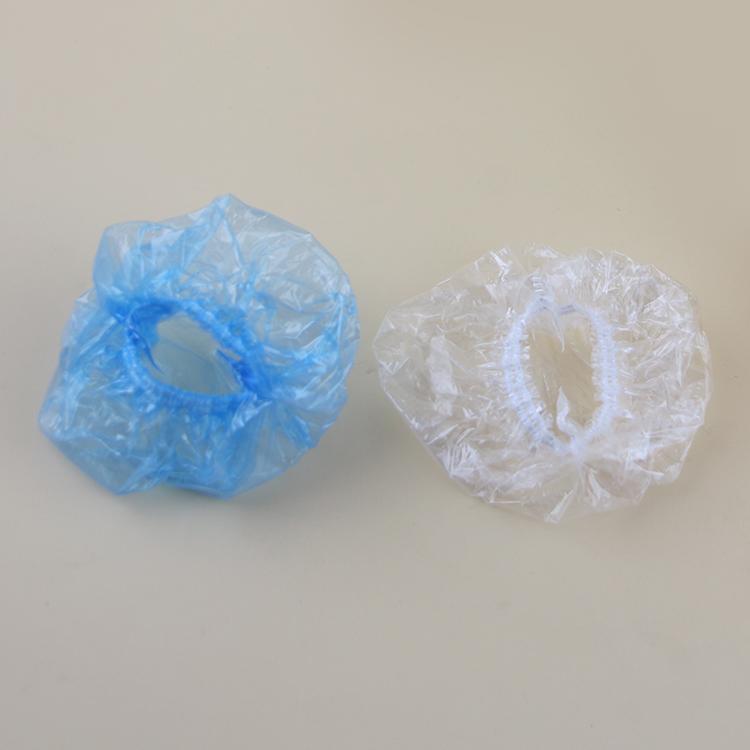 一次性耳套透明塑料染发烫发焗油护耳防水防尘加厚耳罩100个装