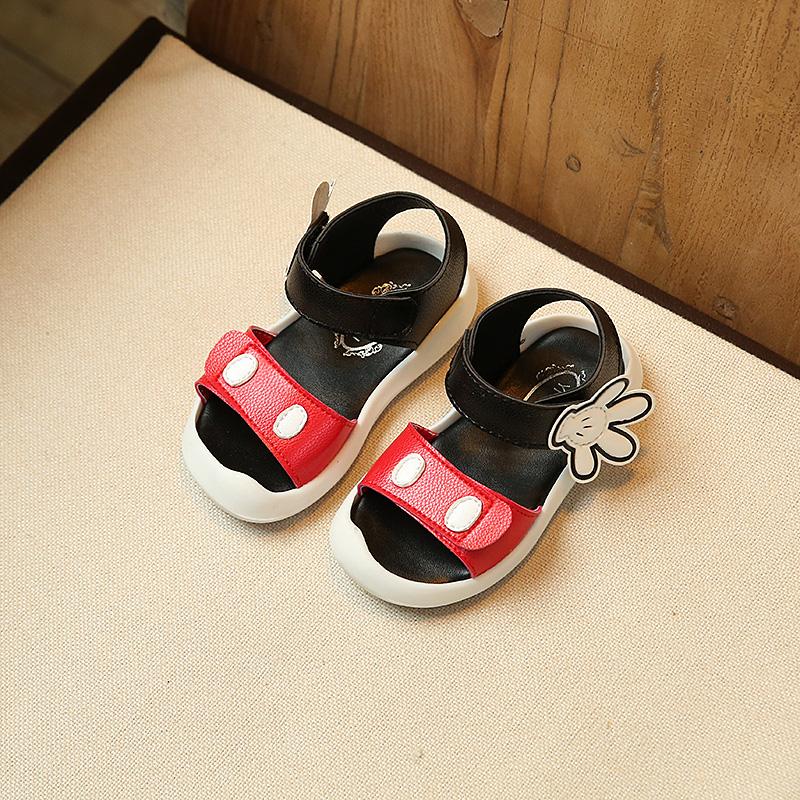 2017夏新款儿童凉鞋1-3-6岁防滑软底2女童鞋子4宝宝鞋5小孩沙滩鞋