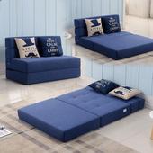 沙发床可折叠榻榻米单人1.2双人1.5米小户型客厅两用简易懒人沙发图片