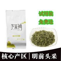 红茶大茶狮牌湘西保靖黄金茶2018年新茶明前一级20g简易春茶绿茶