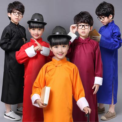 儿童相声服装