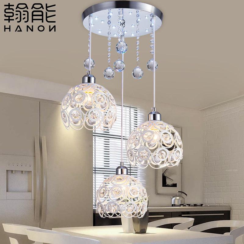 餐厅水晶餐吊灯