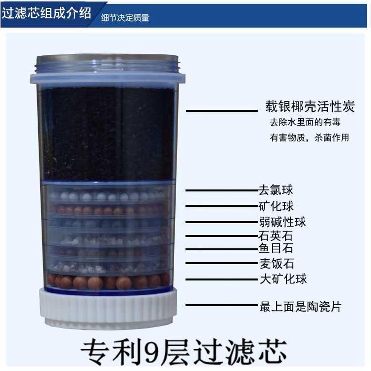 饮水机过滤桶净水桶家用直饮厨房前置净化器纯净过滤器可加水通用