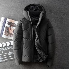 2018新款羽绒服男短款青年冬季保暖韩版修身户外加厚连帽男士外套