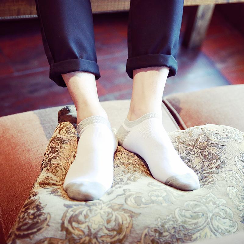 袜子男士短袜薄款船袜女春夏低帮运动防臭隐形袜浅口四季篮球棉袜