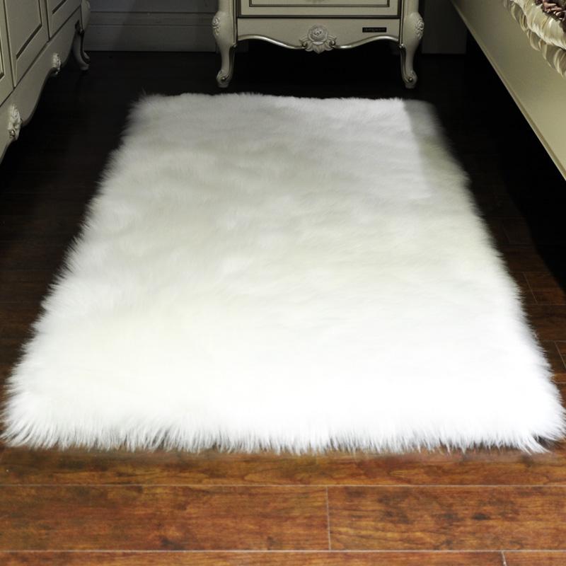 羊毛地毯白