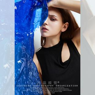 模特拍摄服装摄影托品视觉女装男装内景拍照 网店外模服装拍摄