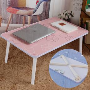 笔记本电脑做桌床上 折叠宿舍大学生上铺迷你大号小桌子懒人书桌