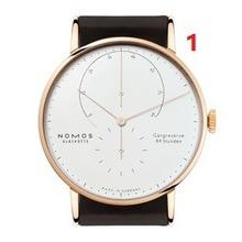 2017时尚休闲石英两针半手表合金不锈钢手表NOMOS-2手表