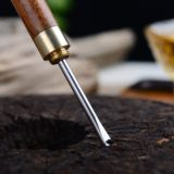 Special offer ebony rosewood mahogany tea needle Pu'er tea cone tea knife tea ceremony accessories steel 撬 tea special