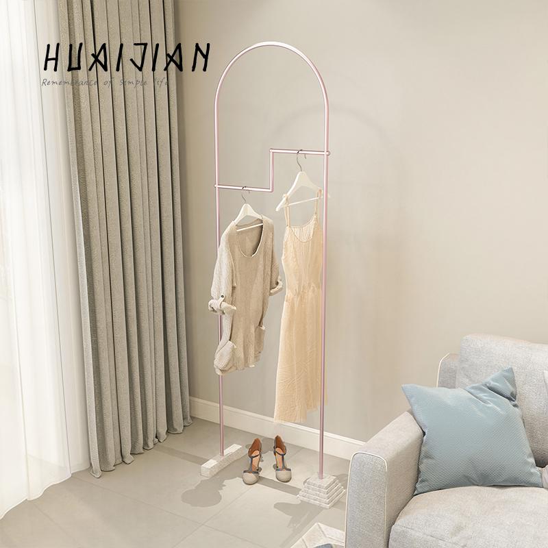 怀简 设计师品牌北欧ins风衣帽架卧室客厅落地衣服架子简约挂衣架