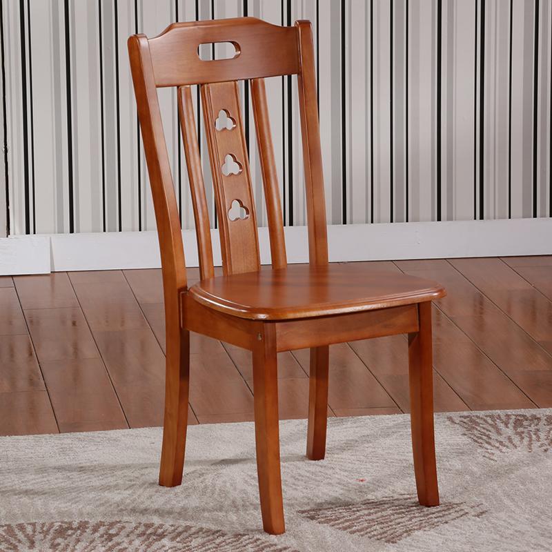 简约全实木餐椅