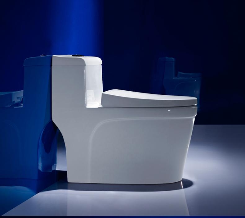 座便器智洁釉节水大口径坐便器坐厕洁具 家用马桶超漩虹吸式 元匠