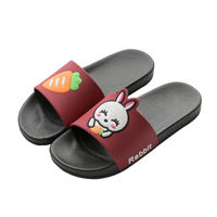Slippers female summer indoor home non-slip couple bathroom shower cute parent-child children's sandals and slippers men wear