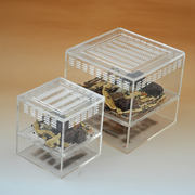 Shi Wang Ant Museum Bread worms Jiulong worm breeding box Yang worm acrylic culture box 15*15*13.5CM