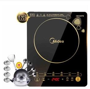 美的电磁炉Midea/美的 WK2102电磁炉家用火锅电池炉智能特价正品
