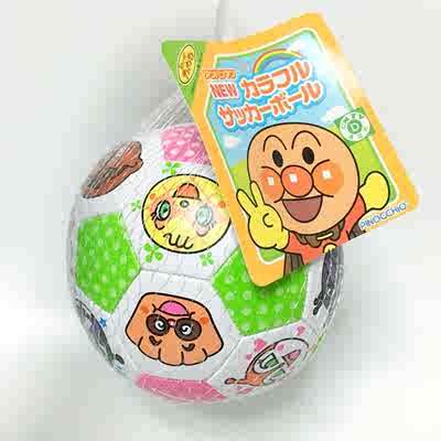 爆卖现货!日本进口面包超人1岁宝宝超柔软小皮球婴儿童足球材质