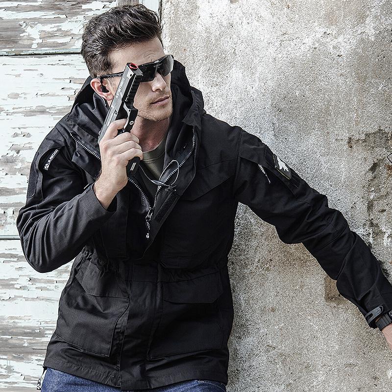 执政官谍影战术外套男春秋户外防水风衣中长款M65军迷战地冲锋衣